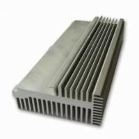 Clear 6063-T5 Aluminum LED Heat Sink Extrusion Profiles With Tapping / Stamping Manufactures