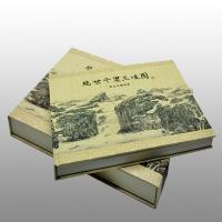 Quality Professional Cardboard Paper Hardcover Book Binding With Shrink Wrapped for sale