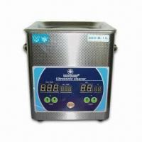 1.8L Ultrasonic Cleaner with 50W Power, Adopts Digital Display Timing and Heating Function Manufactures