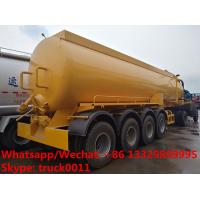 2018s high quality and competitive price customized CLW brand 4 axles 30,000Liters vacuum tank semitrailer for sale, Manufactures