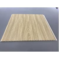 Buy cheap 12 Inch × 6mm High Strength PVC Garage Ceiling Covering With Golden Lamination from wholesalers