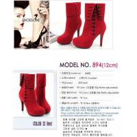 2012 The New High-heeled Suede Boots Manufactures