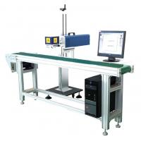 Porcelain Black Marks CO2 Laser Marking Machine For Chassis Easy To Operate Manufactures