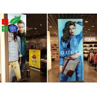 Quality 25 Mm Ultra Slim LED Edge Lit Backlit Fabric Lightbox With LGP For Shopping Mall Advertising for sale