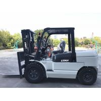 Middle Size Reach Counterbalance Forklift Truck With Mitsubishi Engine FD50 Model Manufactures