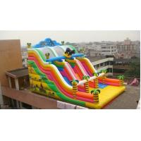 Durable Customized Inflatable Water Sports Inflatable Castle Slides Fireproof Manufactures