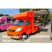 Quality CLW5030XSHB5 forland Jiatu Euro 5 gasoline mini forland food truck for sale, hot for sale