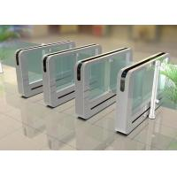 Servo Driver Automatic Metro High Security Turnstile Slim Swing FOR Entrance Manufactures