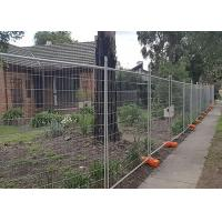 Builders Security Steel Temporary Fencing Mesh Panels For Domestic Housing Sites Manufactures