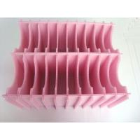 Pink / Black / Red Eco - Friendly PP Corrugated Fluted Plastic Sheet 1500 x 3500mm Manufactures