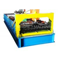 PCL Control Roofing Sheet Roll Forming Machine With Plate Bending Machine  Manufactures