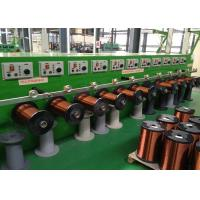 0.03-0.08mm Low Noice Vertical Enameling Machine With Hearted Air Circulation Manufactures