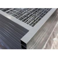 Canada temporary Construction Fence H 6'/1830mm and W 9.6' /2950mm tubing 1/25mm thick 1.5mm powder coated grey