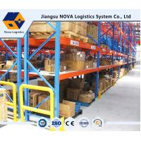 Customized Pallet Rack Storage Systems With Steel Q235 ISO9001 SGS CE Manufactures