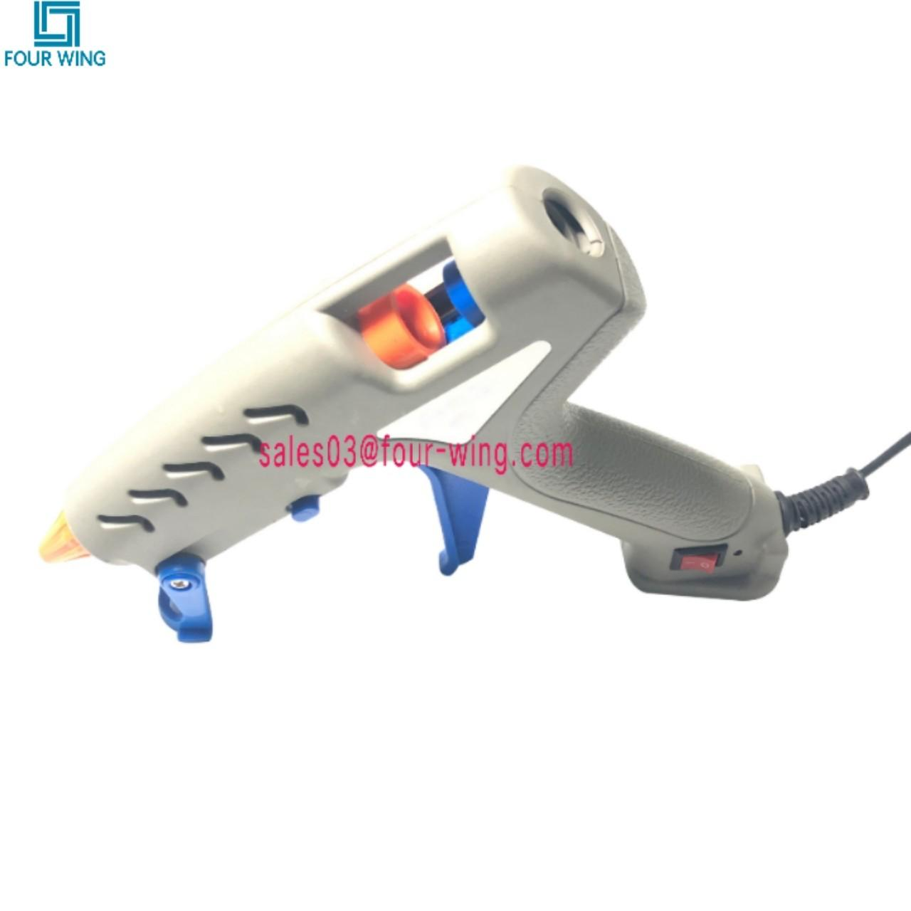 China Hair Extension Tools Silicone Glue Gun 60W Anti-Drip With Glue Stick High Quality on sale