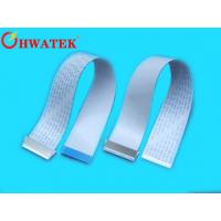 FFC Flat Ribbon Cable , Light Weight Flexible Ribbon Cable For Printers / Copiers Manufactures