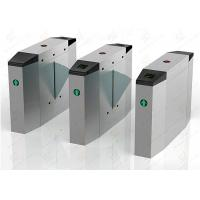 Pedestrian automatic systems turnstiles / Stainless Steel turnstile security gates Manufactures