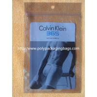 Personalized Zip Lock Bags Anti Static Foil Bags For Sport Briefs Manufactures