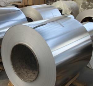 0.09mm Aluminum Coil / Different Width Heat Exchanger Coil Aluminum Stock Manufactures