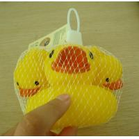 Quality Small Baby Shower Rubber Duck Family Bath Set, Floatable Promotional Rubber Ducks for sale