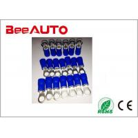 RV1.25-4 Brass High Temperature Ring Terminals , Cable End Copper Ring Tongue Terminal Manufactures