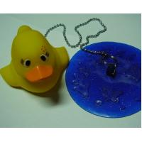 Quality Non Phthalate Pvc Bathtub Water Stopper  , Toybathtub Drain Stopper With Rubber Duck for sale