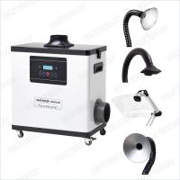 M6001DW Digital Nail Salon Fume Extractor / White Color Medical Portable Smoke Extractor 80W Manufactures