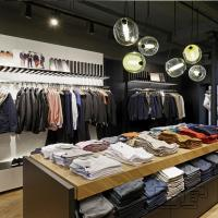 Retail clothes cabinet hanging furniture for clothing store Manufactures