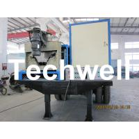 17.7KW Electric Control K Span Arch Roof Roll Forming Machine For Large Span Roof Manufactures