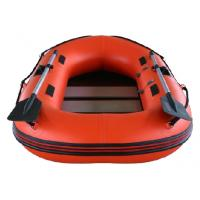 0.9mm PVC Fabric Inflatable Fishing Dinghy Hard Bottom Inflatable Boats Manufactures