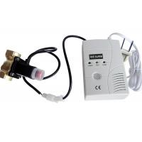 AC / DC power LPG Gas Detector Alarm EN50194 with Auto Shut off Solenoid Valve Manufactures