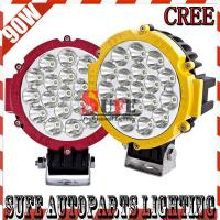 90W CREE LED Driving Light Offroad Truck Tractor 4X4 JEEP Spot/Flood Cover LED Fog Light Manufactures