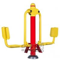 China good quality cheap manufacturer of galvanized outdoor fitness trainer leg press Manufactures