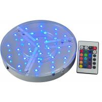 China Battery Operated Led Light Bases For Vases / Wedding Table , IP54 Led Bulb Bases on sale