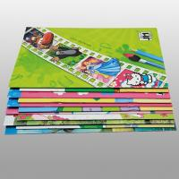 Kids Saddle Stitch Printing With Spiral Binding , Teaching English Children Books Manufactures