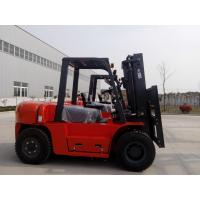 6tdiesel forklift 2stage 3m mast with sideshift and1.22mfork , double frontsolid tyre with 3m long fork extension Manufactures