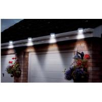 Quality 3 LED Solar Wall Lamp Cool White Solar Powered LED Gutter Lights For Fence / Pathway for sale