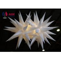 Blower Inside Air Star Inflatable Lighting Decoration For Big Event Party Club Manufactures