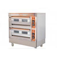 Quality QL-4A Two Deck Gas Oven / Commercial Electric Baking Ovens With Automatic for sale