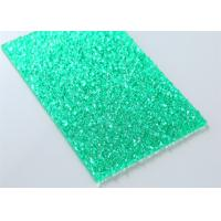 Quality Green Embossed Polycarbonate Solid Sheet Sabic Material 2mm - 12mm Thickness for sale