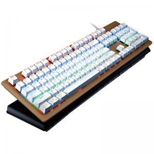 Rainbow 104 Multimedia Keys Bezel Keyboard With LED Backlight Keyboard Manufactures
