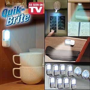 Quick Brite & LED Magnetic Cabinet Light Manufactures