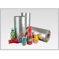 Durable 35/40/45/50 Mic PETG Shrink Film For Packaging / Label Printing for sale