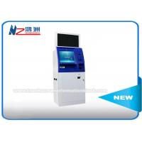 Windows 8 / 10 OS Coin Counting Kiosk Multi Touch Screen Wifi / 3G / Bluetooth Connection Manufactures