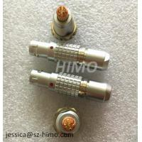 Upside-down charging D-tap connectors 7pin 10pin push pull 1B series lemo cable connector Manufactures
