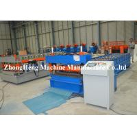 Corrugated Roof / Roofing Sheet Roll Forming Machinery Panasonic PLC control Manufactures