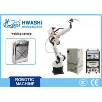 Automatic 6 Axis Industrial Mig Welding Robot  Metal Jerry Can Making Automatic System Manufactures