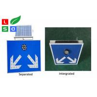 Quality Freestanding LED Solar Powered Sign Lights , Traffic Safety IP65 Commercial for sale