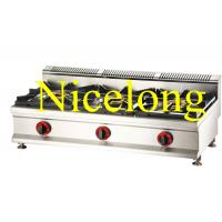Nicelong 3 burners gas range can use LPG and NG GBS-3Y Manufactures