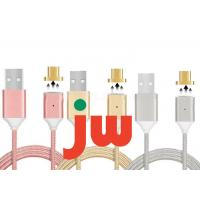 Quality Fast Magnetic Charger Cable For Samsung / Magnetic Usb Charging Cable For IPhone for sale